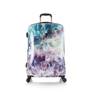 Heys 'Quartz' 21-inch Carry-on Fashion Hard-sided Spinner Upright Suitcase