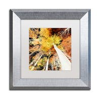 Philippe Sainte-Laudy 'Damn Nation' Matted Framed Art - Yellow