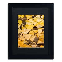 Philippe Sainte-Laudy 'Floored By The Fall' Matted Framed Art - Black