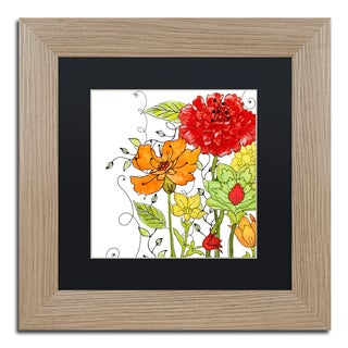 Color Bakery 'Aria II' Matted Framed Art