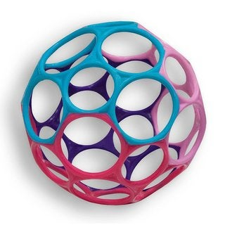 Oball Pink and Purple Classic Grasping Toy