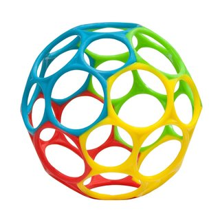 Oball Yellow/Blue/Red/Green Classic Grasping Toy