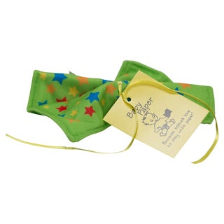 Baby Paper Stars Green Crinkly Baby Toy