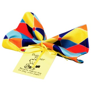 Baby Paper Triangle Multicolored Fabric Crinkly Baby Toy