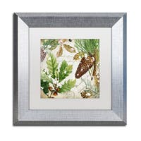 Color Bakery 'Snow Cones II' Matted Framed Art - Multi