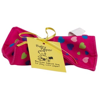 Baby Paper Pink Hearts Crinkly Baby Toy