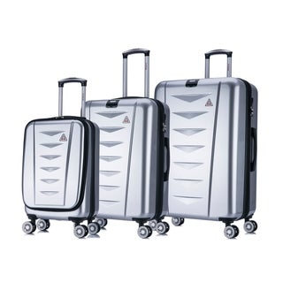 InUSA AirWorld 3-Piece Lightweight Hardside Spinner Luggage Set