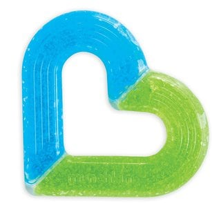 Munchkin Blue/Green Ice Heart Teether