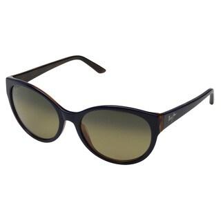Maui Jim Venus Pools GS100-02L Women's Blue with Rootbeer Frame HCL Bronze Lens Sunglasses