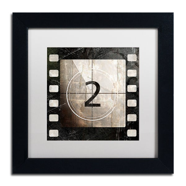 Color Bakery 'Vintage Countdown II' Matted Framed Art