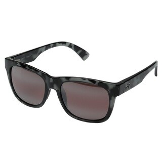 Maui Jim Snapback R730-11T Unisex Grey Tortoise Frame Maui Rose Lens Sunglasses