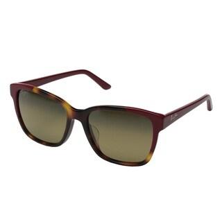 Maui Jim Moonbow HS726-66 Women's Tortoise Red Frame HCL Bronze Lens Sunglasses