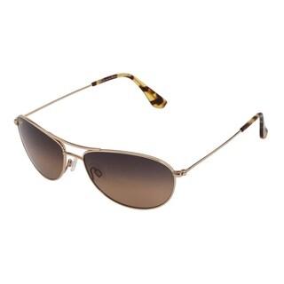 Maui Jim Baby Beach HS245-16 Unisex Gold Frame Bronze Lens Sunglasses