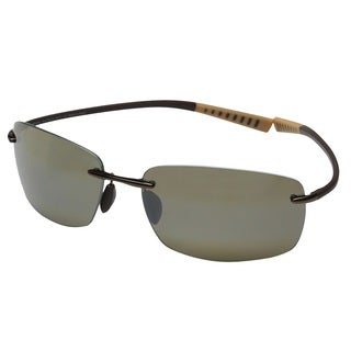 Maui Jim Kumu H724-23 Unisex Metallic Gloss Copper Frame HCL Bronze Lens Sunglasses