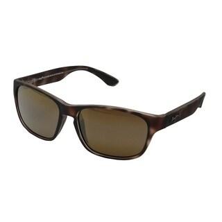 Maui Jim Mixed Plate H721-10MR Unisex Tortoise Rubber Frame HCL Bronze Lens Sunglasses