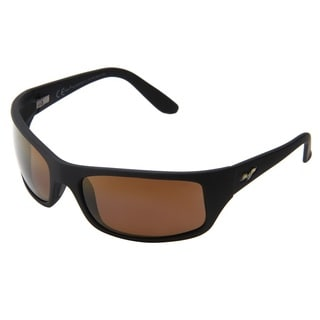 Maui Jim Peahi H202-2M Women's Matte Black Frame/HCL Bronze Lens Sunglasses