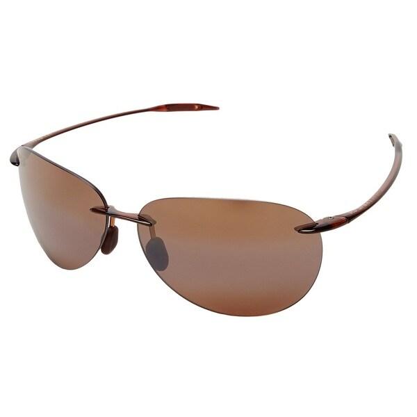 fc9f50ce2eee Maui Jim Sugar Beach H421-26 Unisex Rootbeer Frame HCL Bronze Lens  Sunglasses