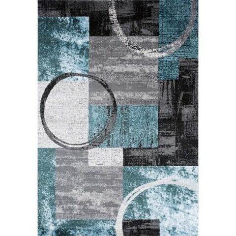 OSTI Toscana Abstract Circle Area Rug (Several Options)