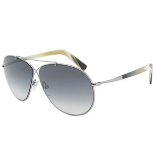 Tom Ford Eva FT0374 Women's Light Ruthenium Grey Gradient sunglasses