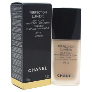 Chanel Perfection Lumiere Long-Wear Flawless Fluid Makeup SPF 10 Beige Rose