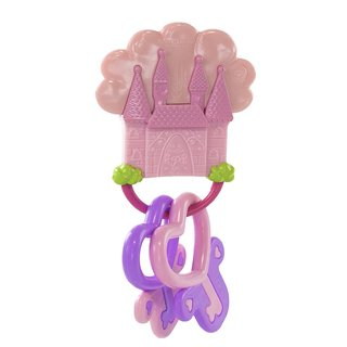 Kids Preferred Disney Keys to the Kingdom Pink Teether
