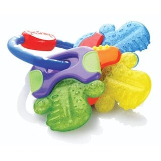 Nuby Icybite Plastic Hard/Soft Teething Keys