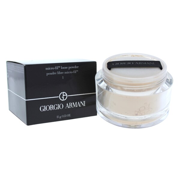 �ล�าร���หารู��า�สำหรั� giorgio armani micro fil loose powder 1