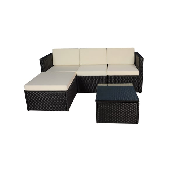 Modern Coffee Table For Sectional: Shop Modern Small Sectional With Coffee Table