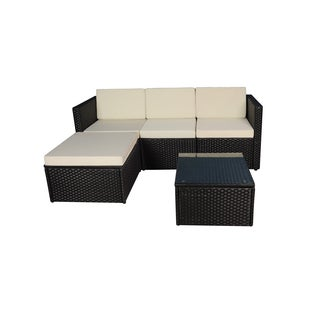 Modern Small Sectional with Coffee Table
