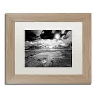 Philippe Sainte-Laudy 'Light world' Matted Framed Art - Grey