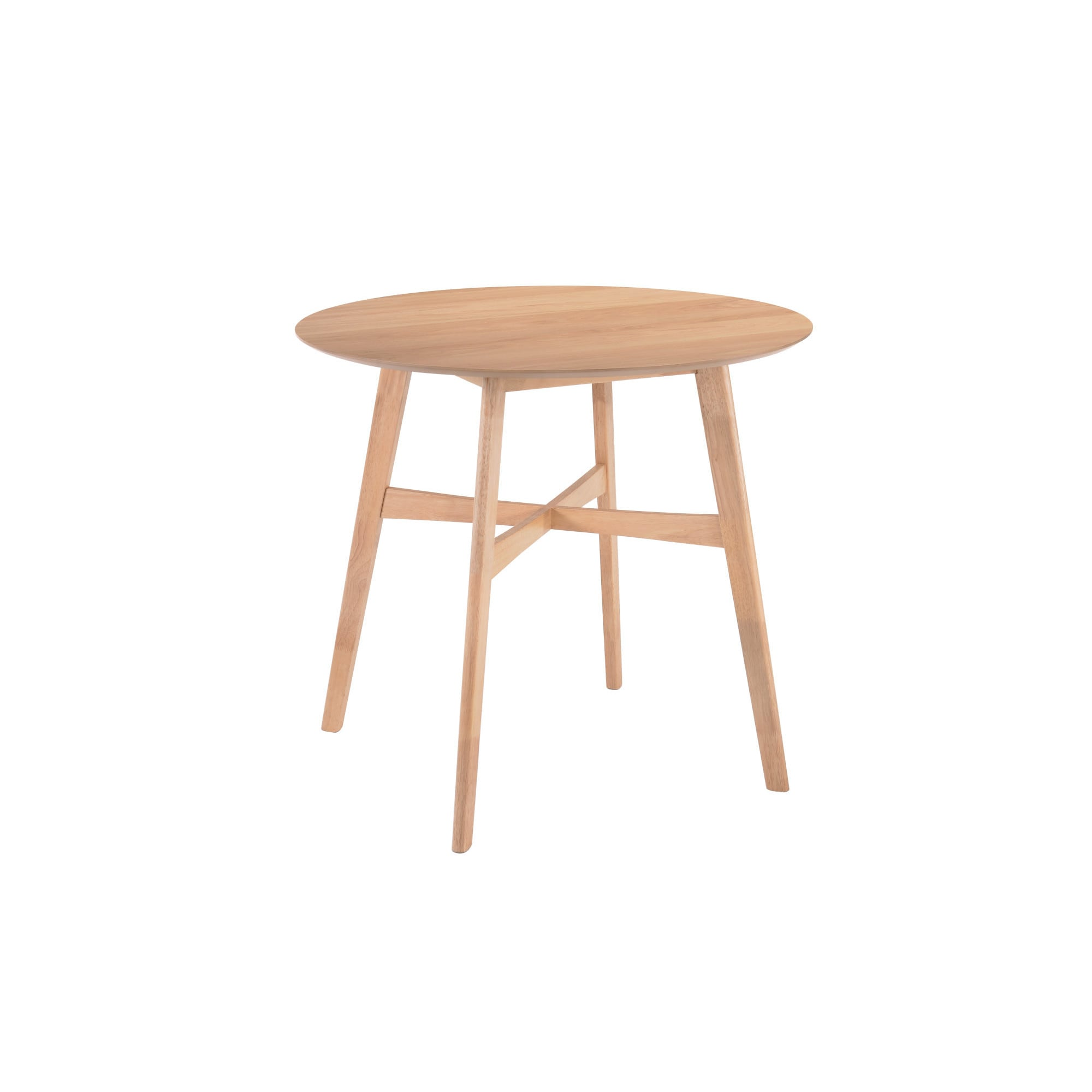 """Emerald Home Simplicity Natural 42"""" Round Gathering Table..."""