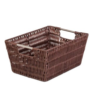 Small Brown Woven Basket