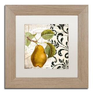 Color Bakery 'Les Fruits Jardin I' Matted Framed Art