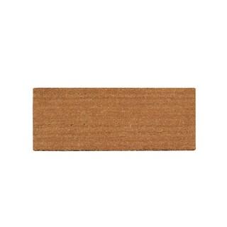 First Impressions Natural Coir 20x48 Doormat