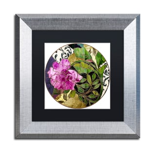 Color Bakery 'Glassberry II' Matted Framed Art