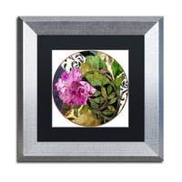 Color Bakery 'Glassberry II' Matted Framed Art