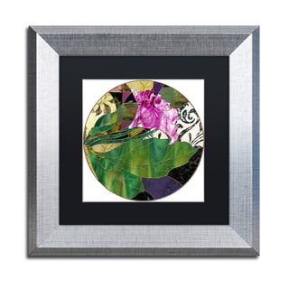 Color Bakery 'Glassberry I' Matted Framed Art
