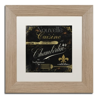 Color Bakery 'La Cuisine IV' Matted Framed Art