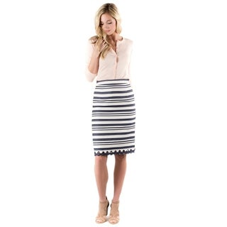 DownEast Basics Women's Main Line Skirt