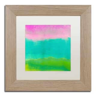Color Bakery 'Gradients I' Matted Framed Art