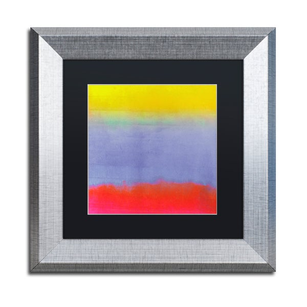 Color Bakery \'Gradients III\' Matted Framed Art - Multi - Free ...