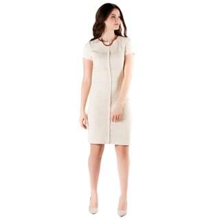 DownEast Basics Women's Frayed Edge Dress