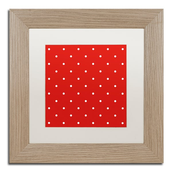 Color Bakery 'Aria III' Matted Framed Art