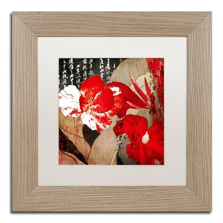 Color Bakery 'China Red I' Matted Framed Art