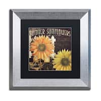 Color Bakery 'Vermont Farms XI' Matted Framed Art - Grey