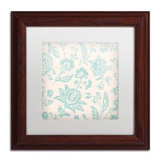 Color Bakery 'Toile Fabrics XI' Matted Framed Art