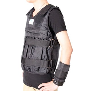 Zooboo Adjustable Weighted Vest Weight Jacket for Exercise, Fitness, Boxing, and Training