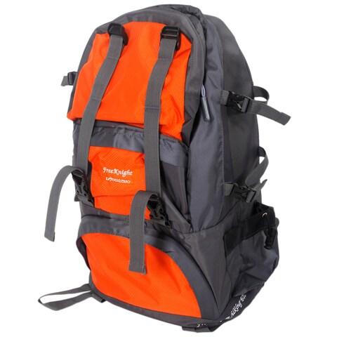 Free Knight FK0218 Orange Nylon 50-liter Outdoor Waterproof Hiking/Camping Backpack