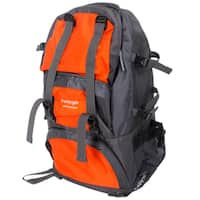 Free Knight FK0218 Orange Nylon 50-liter Outdoor Waterproof Hiking/Camping Backpack