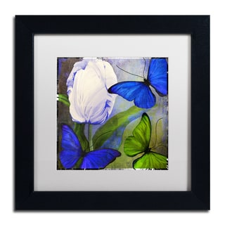 Color Bakery 'Morphos One ' Matted Framed Art